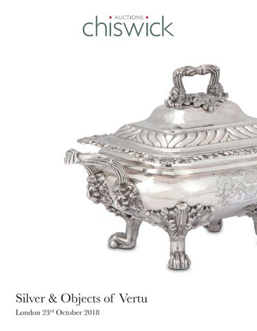 8fecf3cfa6 Chiswick Auctions Silver and Objects of Vertu October 2018