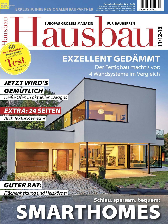 Hausbau 11 12 2018 By Fachschriften Verlag Issuu
