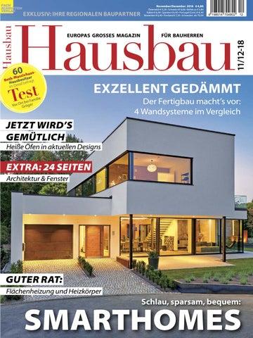Hausbau 11/12 2018 By Fachschriften Verlag   Issuu