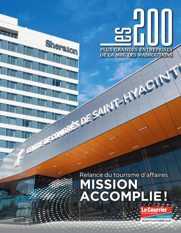 c6762b09a438ae Les 200 plus grandes entreprises de la MRC des Maskoutains by DBC  Communications - issuu