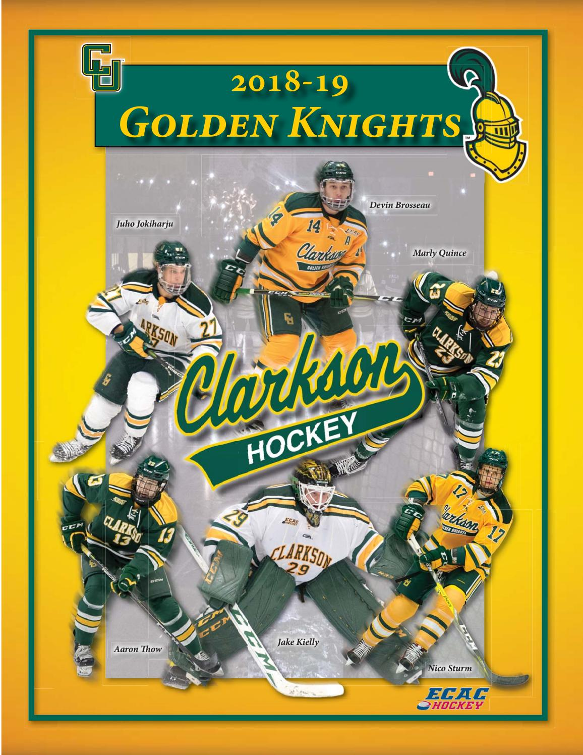 f3c6ba460197 2018-29 Clarkson University Men s Hockey Guide by Gary Mikel - issuu