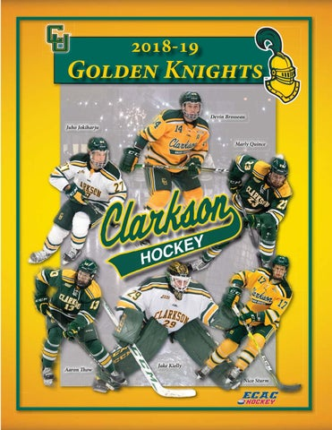 19dad791b8d 2018-29 Clarkson University Men's Hockey Guide by Gary Mikel - issuu