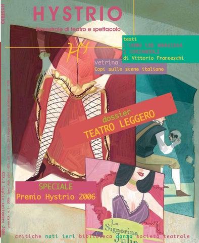 Hystrio 2006 3 luglio-settembre by Hystrio - issuu e1d34354afc