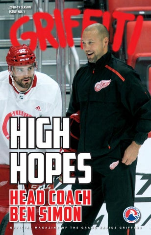 2018-19 Griffiti - Issue  1 by Grand Rapids Griffins - issuu 94275084a