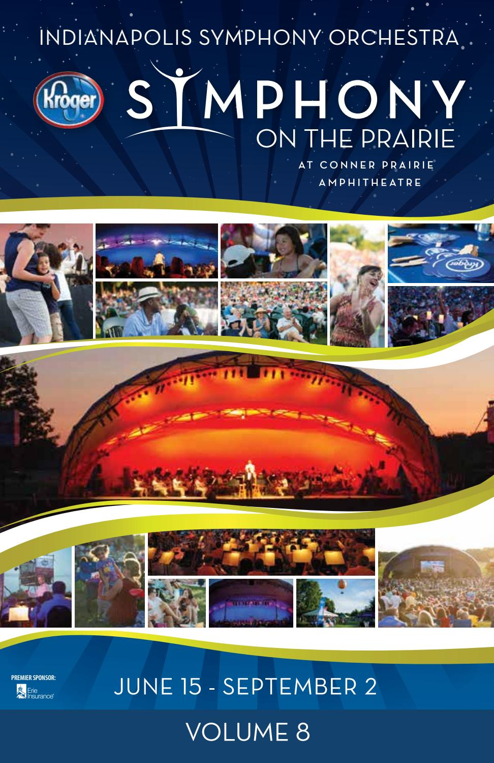 Summer 2018 Indianapolis Symphony Orchestra Program Book by