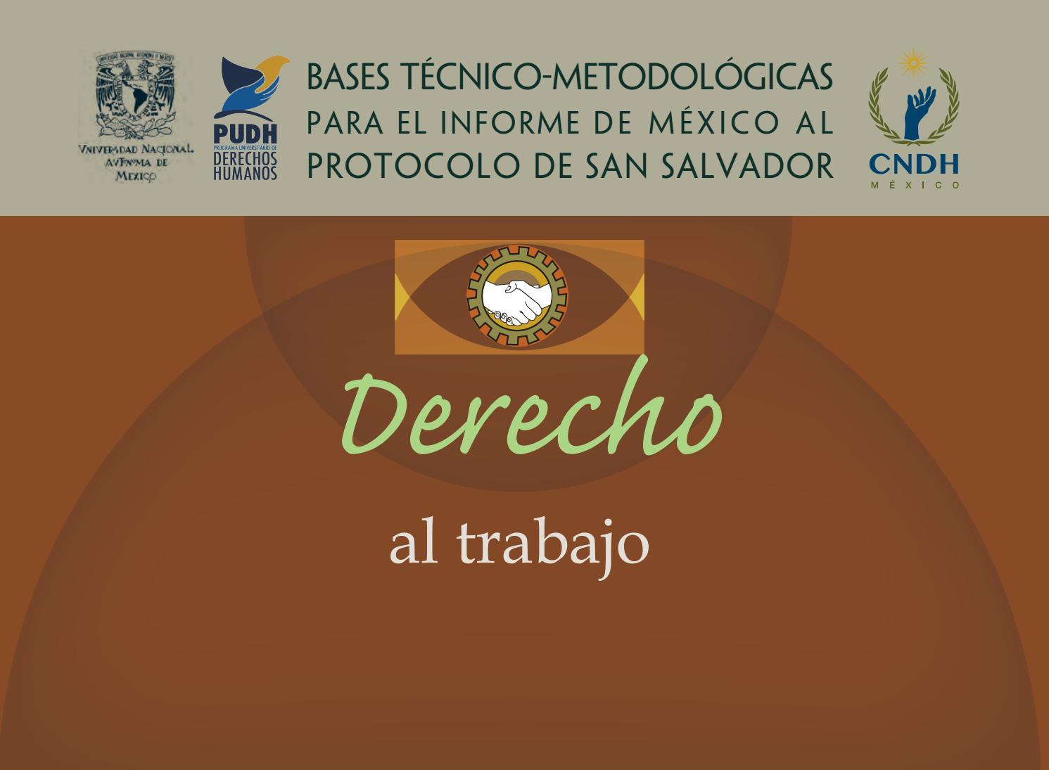 Derecho Al Trabajo By Programa Universitario De Derechos