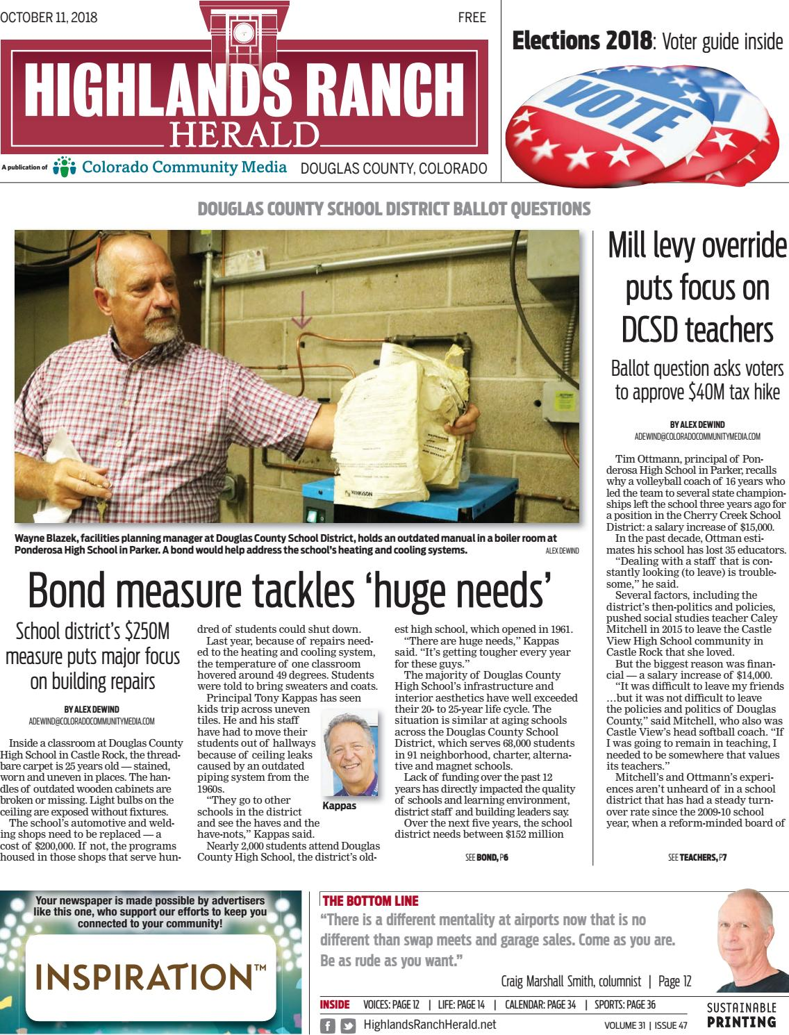 bffd68660465 Highlands Ranch Herald 1011 by Colorado Community Media - issuu