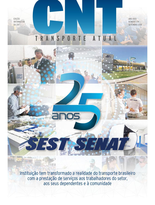 25 Anos Do Sest Senat By Confederação Nacional Do Transporte