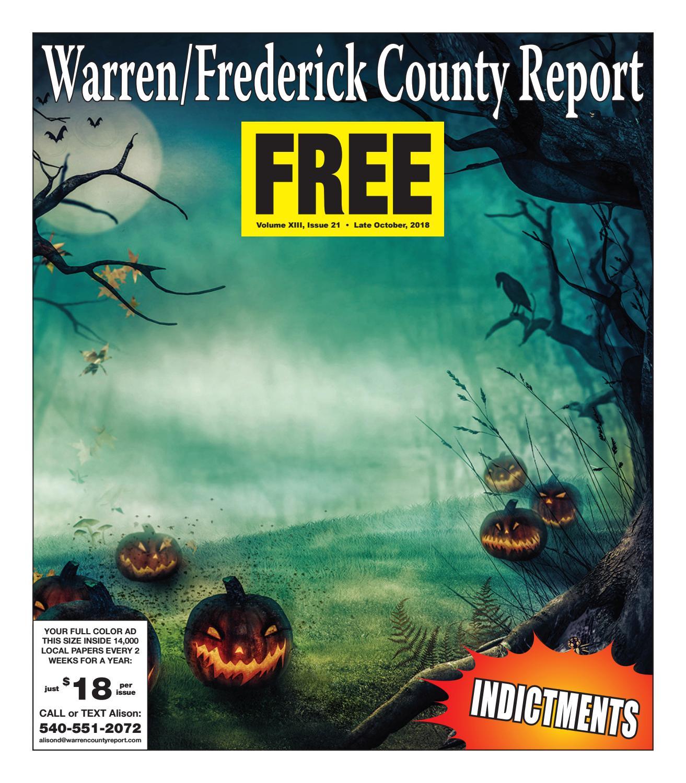 Late October 2018 Warren/Frederick County Report by Warren