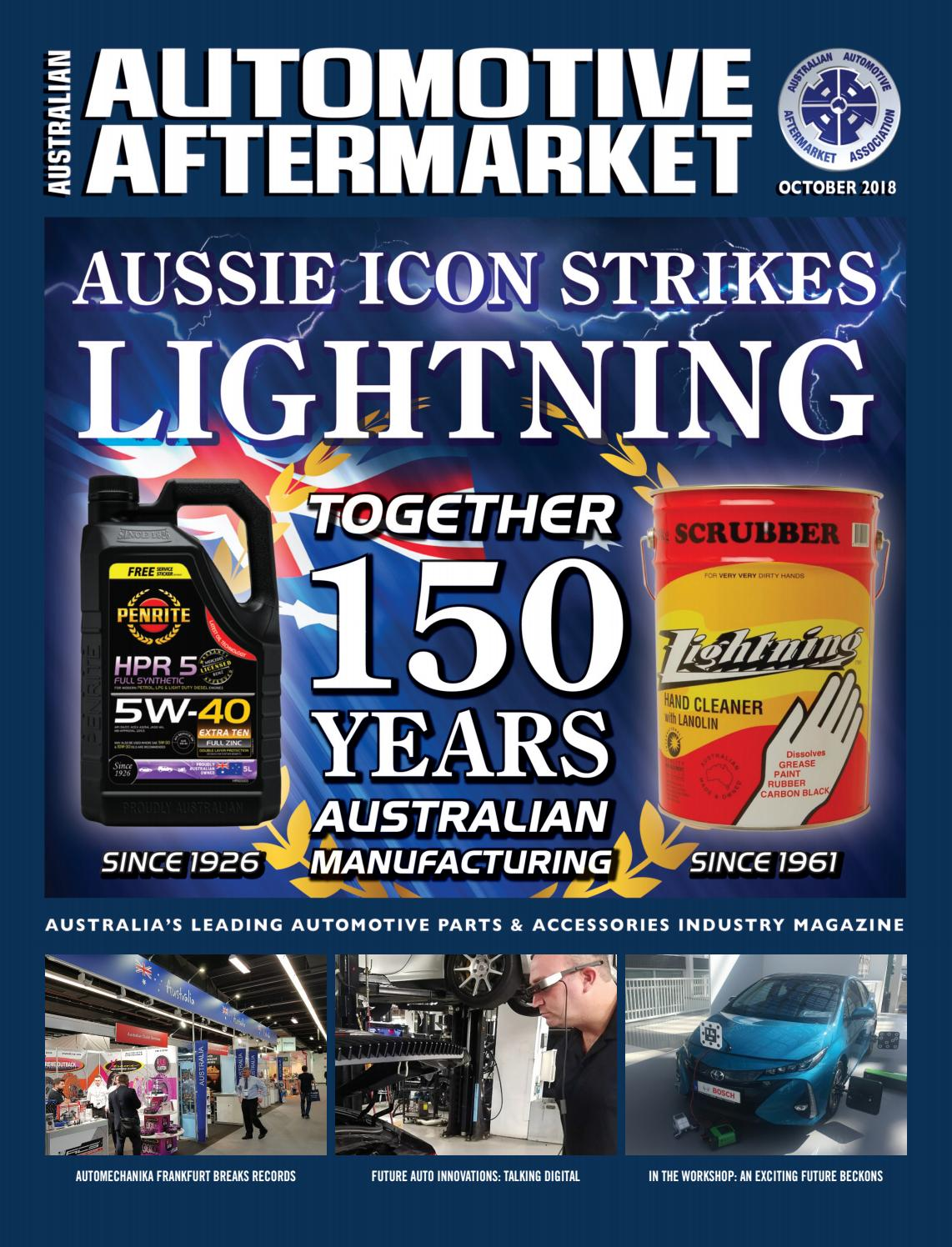 Australian Automotive Aftermarket Emagazine October 2018 By Aaaa710 Driving Light Wiring Land Rover Owners Issuu