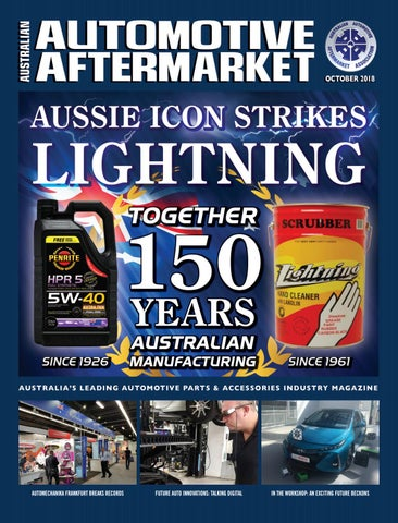 Australian Automotive Aftermarket eMagazine October 2018 by