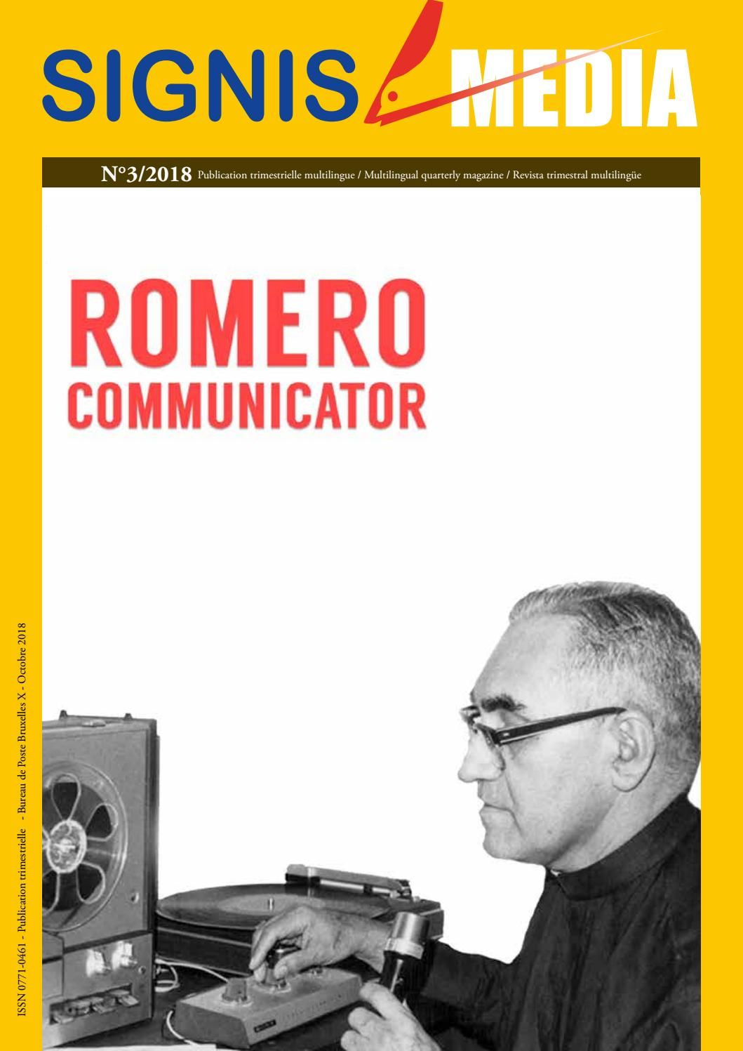 Signis Media Romero Communicator By Signis Issuu