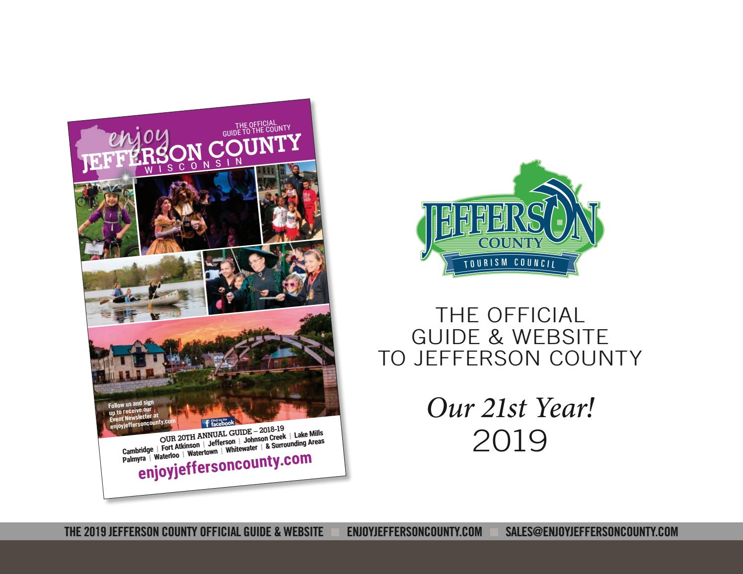 2018-19 Jefferson County Official Guide & Website Media Kit