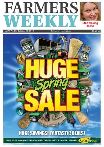 Farmers Weekly NZ October 15 2018 by Farmers Weekly NZ - issuu