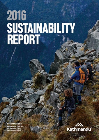 Kathmandu Sustainability Report 2016 by KATHMANDU LIMITED - issuu 4bb77372a