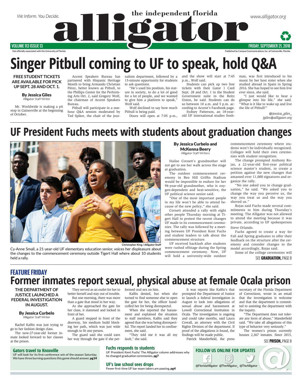 September 21, 2018 by The Independent Florida Alligator - issuu