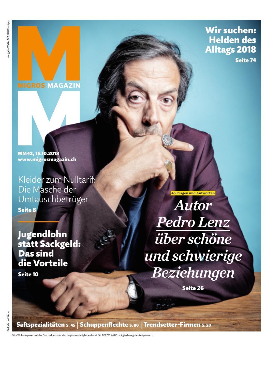 Migros Magazin 42 2018 D Vs By Migros Genossenschafts Bund Issuu