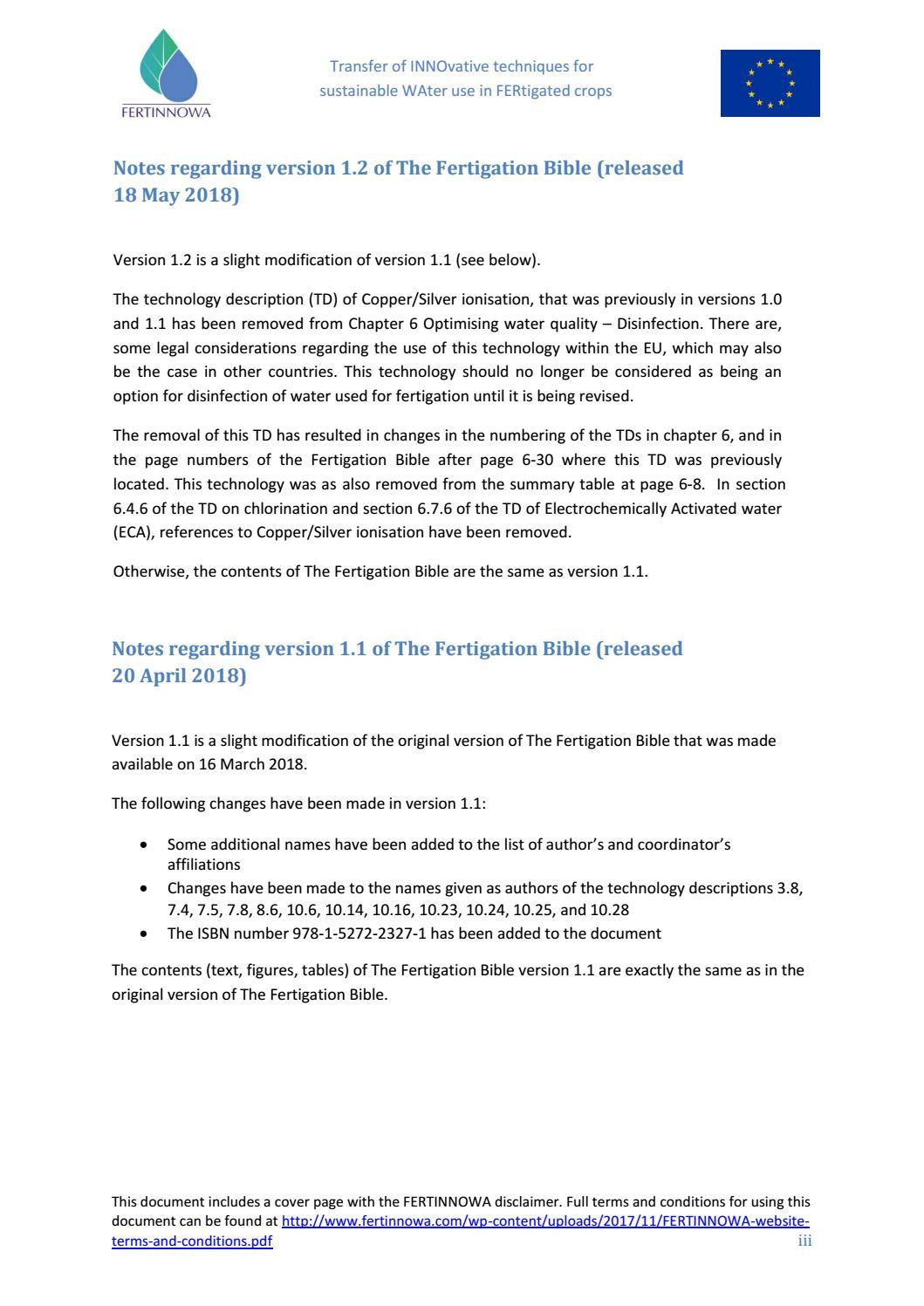 RESUMEN y Participantes / La Biblia de la Fertirrigaci´pm by