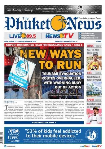 The Phuket News 12 October 2018 by The Phuket News - issuu