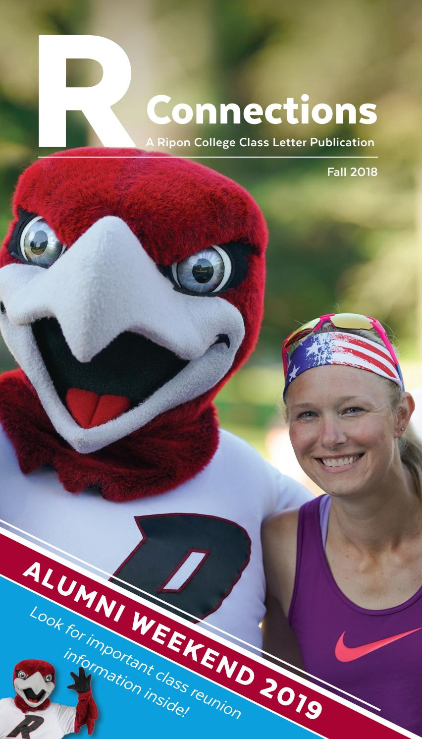 cf4575bd498 Ripon College R Connections Fall 2018 by Ripon College - issuu