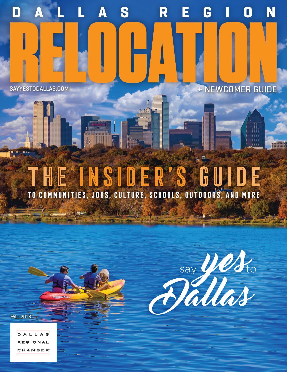 Dallas Region Relocation + Newcomer Guide - Fall 2018 by Dallas