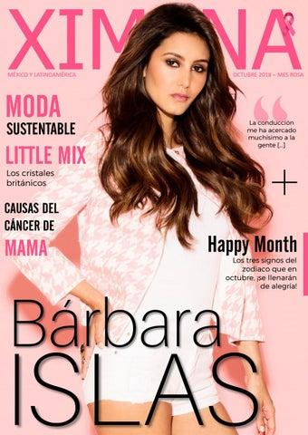 1533568fd Revista Ximena - Octubre 2018 (Mes Rosa) | Bárbara Islas by Revista ...