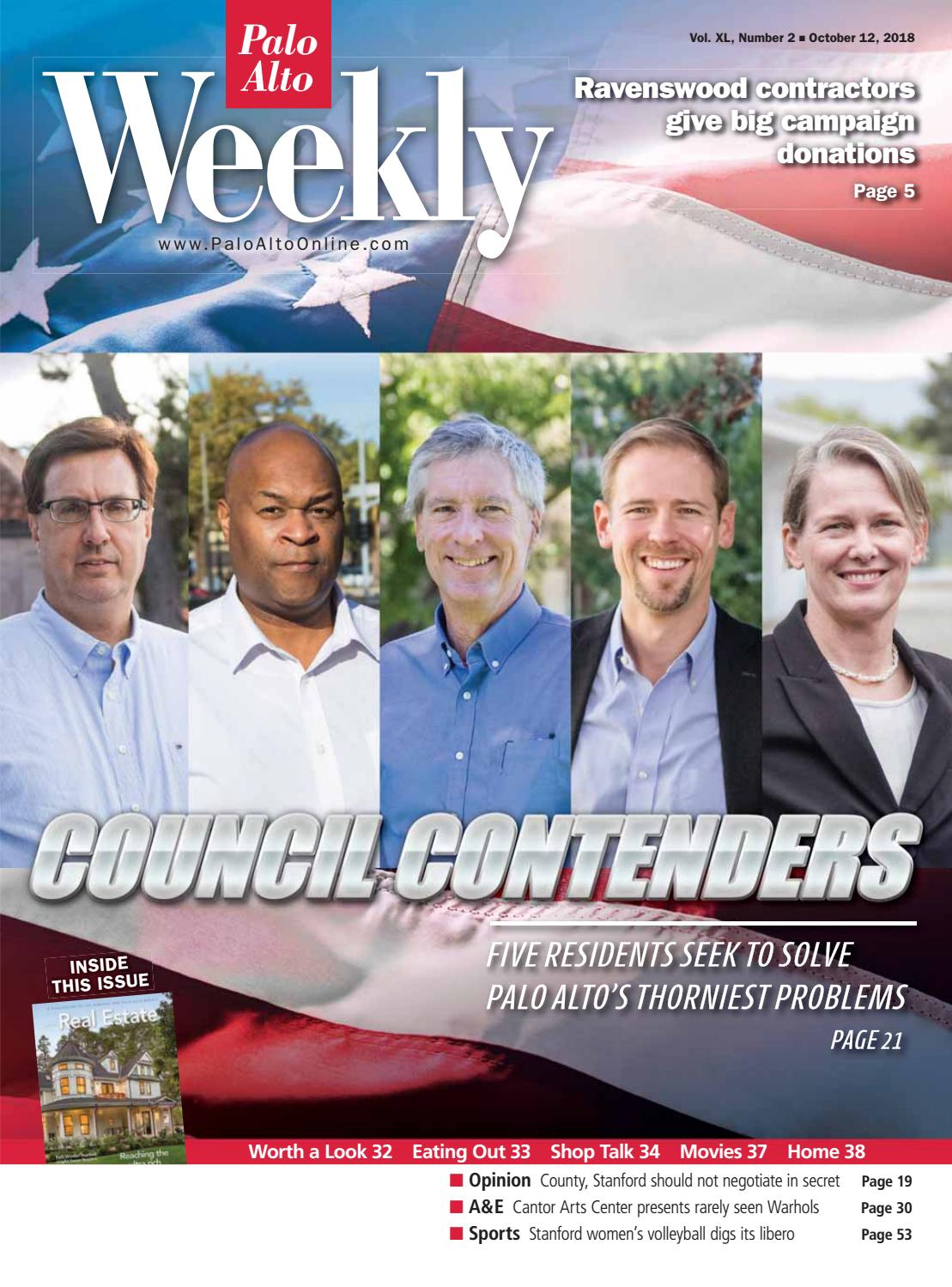 Palo Alto Weekly October 12, 2018 by Palo Alto Weekly - issuu