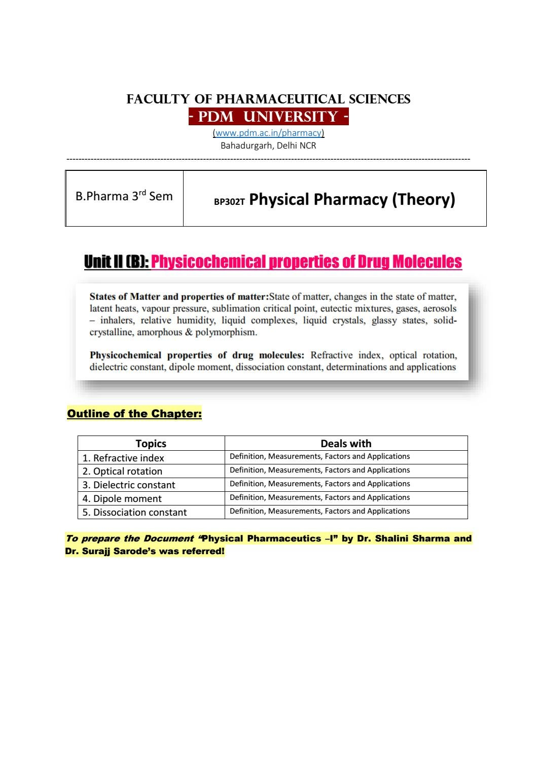 Download pharmacy textbook cvs subrahmanyam by physical of