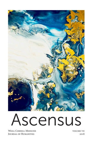 ASCENSUS : Journal of Humanities at Weill Cornell Medical