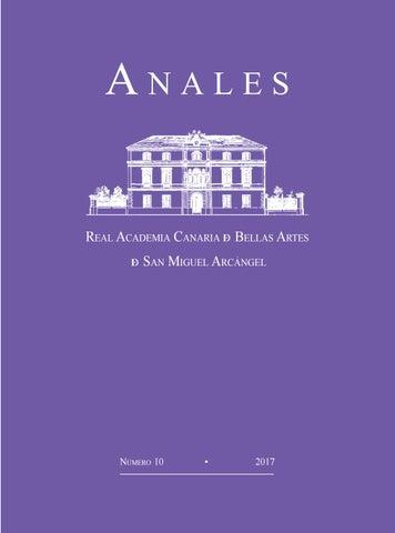 3e8cdb554497 2017 - Revista ANALES de la RACBA núm 10 by Real Academia Canaria de ...