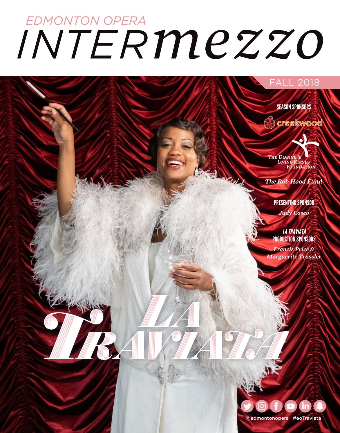 Edmonton Opera Magazine - La Traviata by Suggitt Publishers