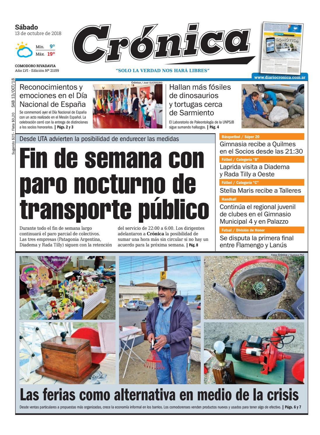 Crónica 10 13 2018 By Cronica Issuu Diario 3jL5RA4
