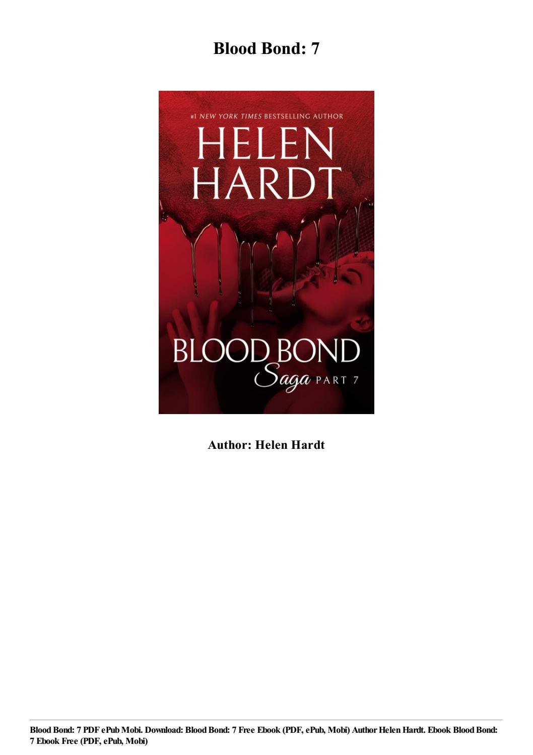 Download Blood Bond: 7 free ebook (pdf, epub, mobi) by Helen Hardt by  alroymulac94 - issuu