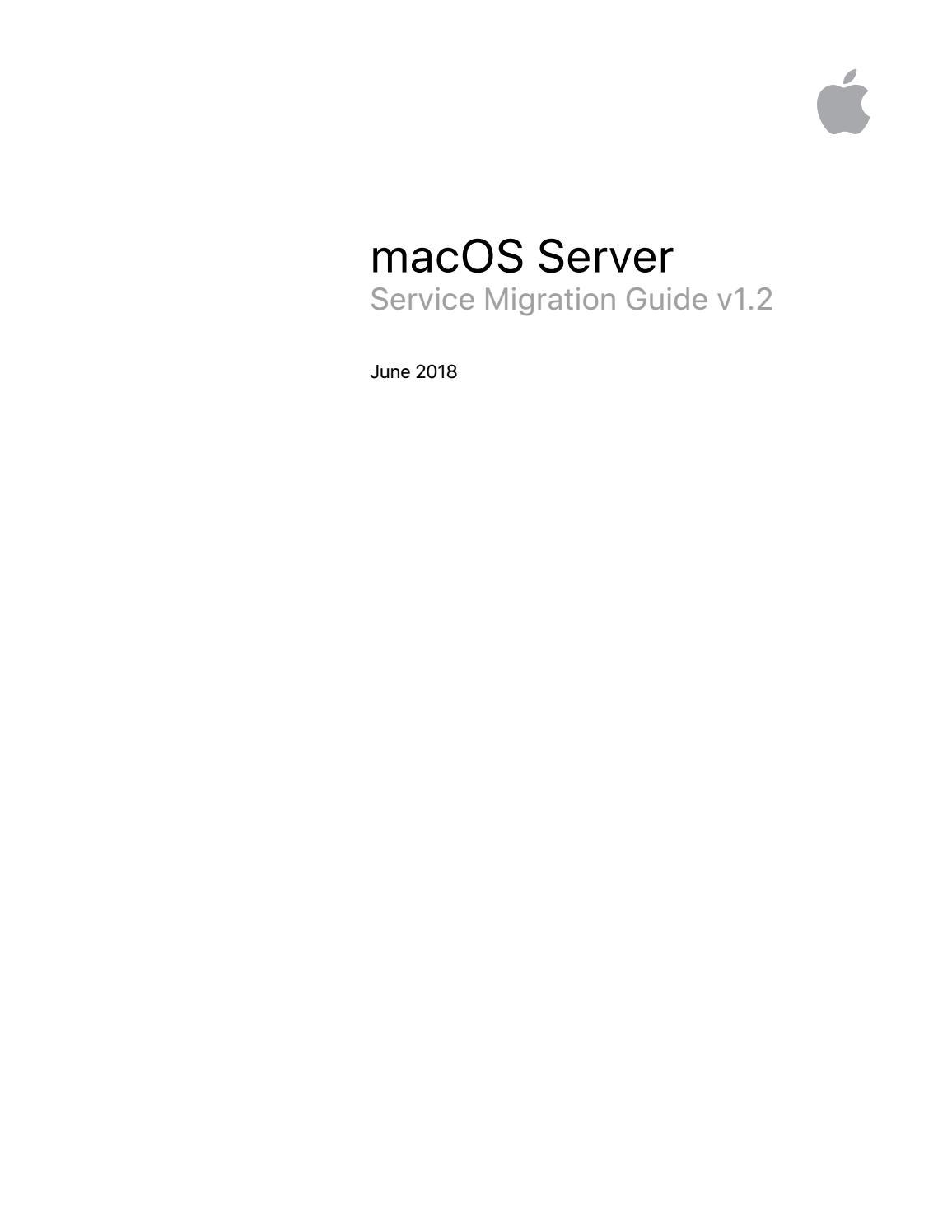 macOS Server Service Migration Guide by SASTG - issuu