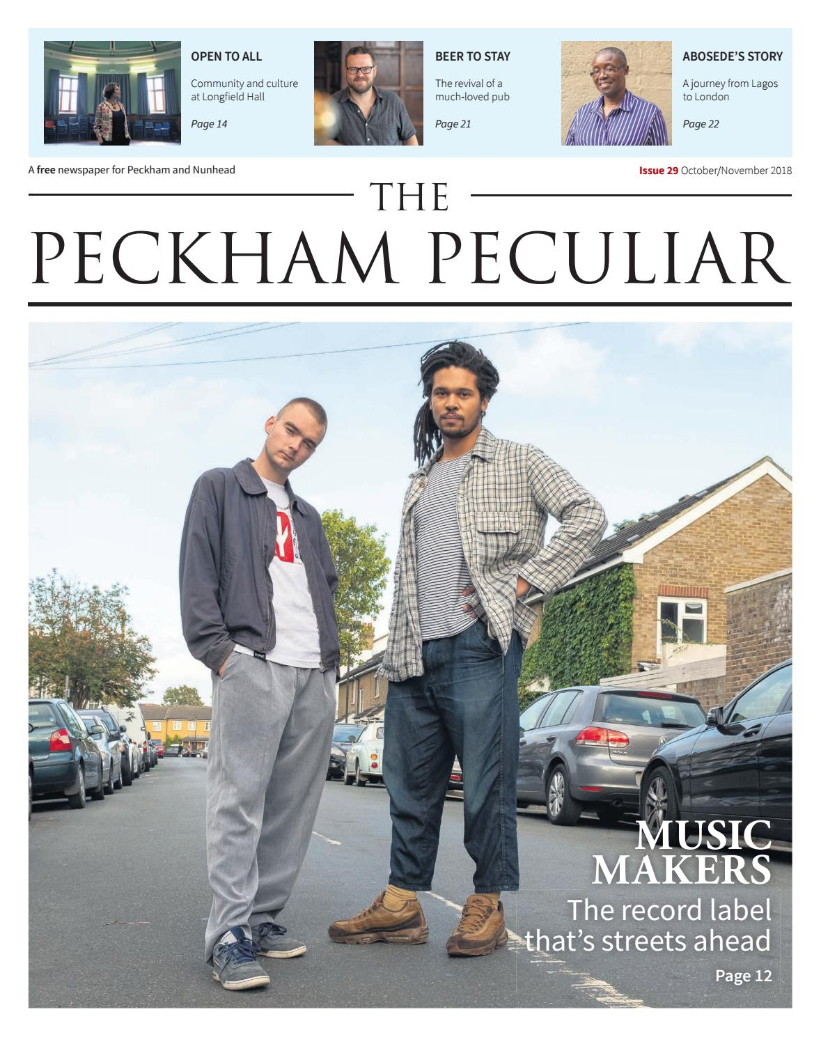 9802138c8 Issue 29 of The Peckham Peculiar by The Peckham Peculiar - issuu
