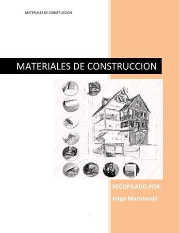 2755dca9657 MATERIALES DE CONSTRUCCIÓN by Jorge Marulanda - issuu