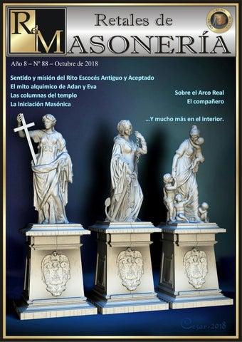 b9af57d7bf Retales de masoneria numero 88 octubre 2018 by Grupo Piedra Angular ...