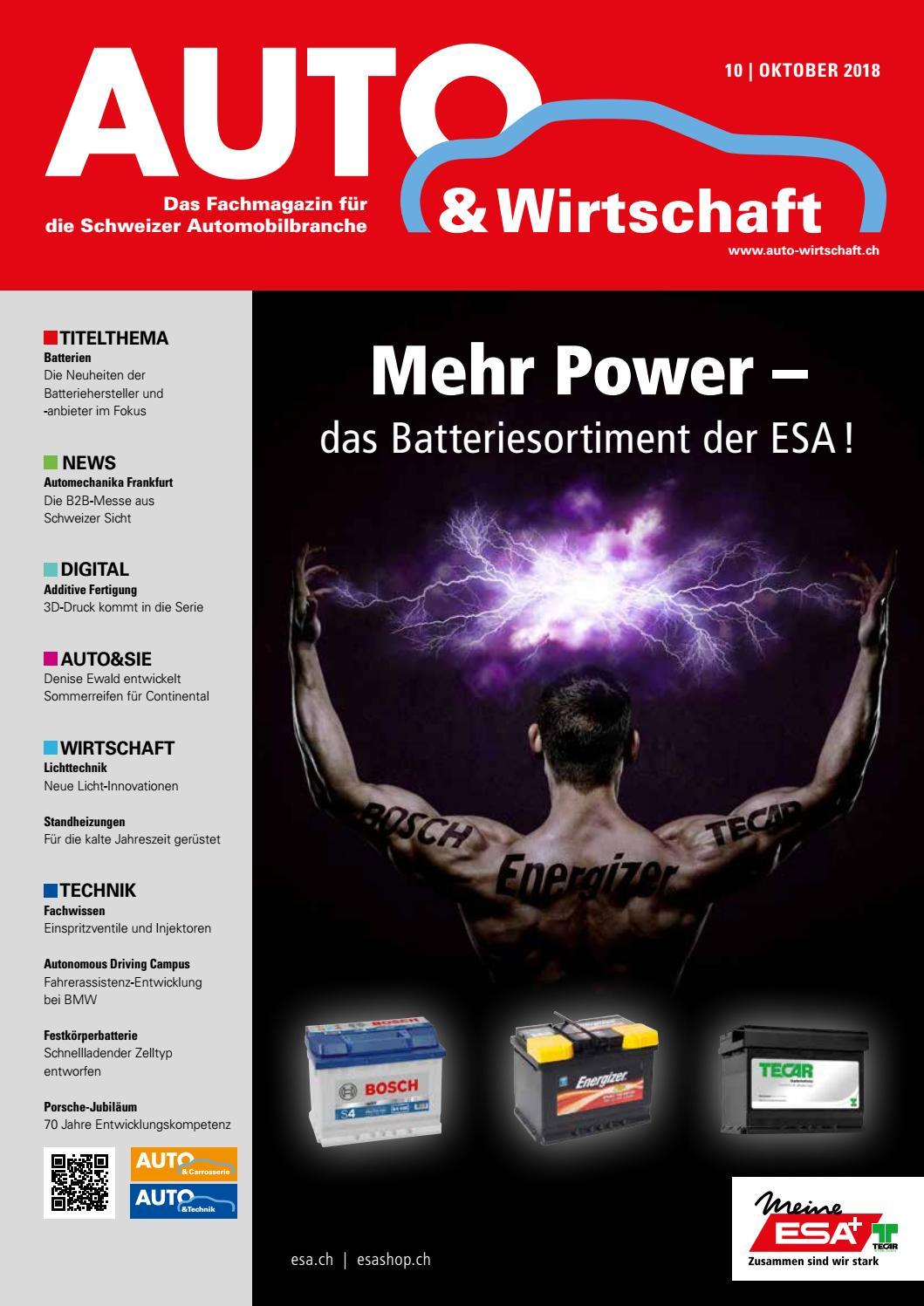 Auto Wirtschaft 10 2018 By A W Verlag Ag Issuu