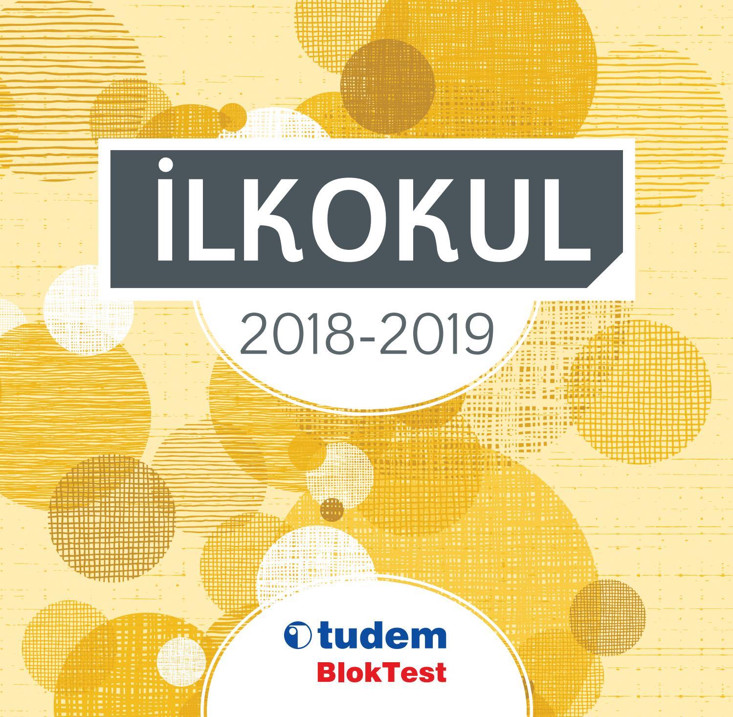 Tudem Egitim Ve Bloktest Ilkokul Katalogu 2018 2019 By Tudem Issuu