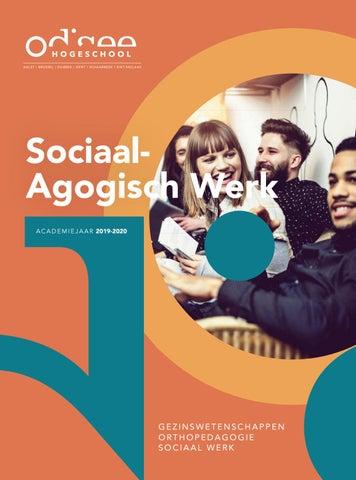 Brochure Sociaal Agogisch Werk 2019 2020 By Odisee Issuu