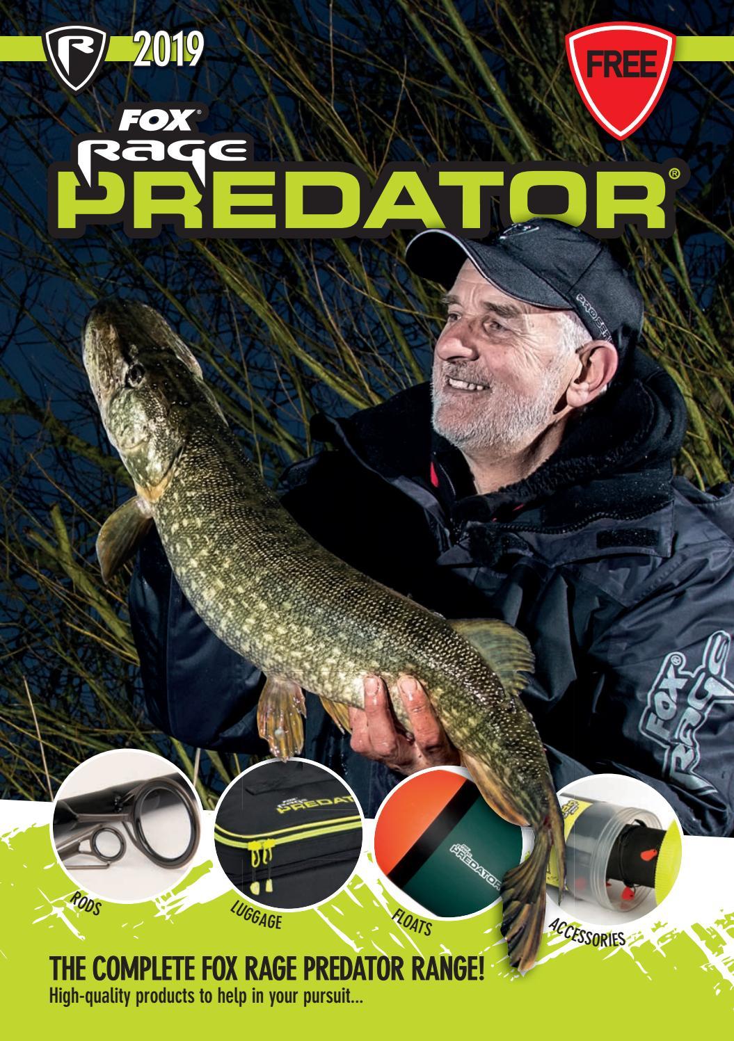 Fox Rage Predator Treble Hook Sleeves Smal Dead Bait angeln FAC054