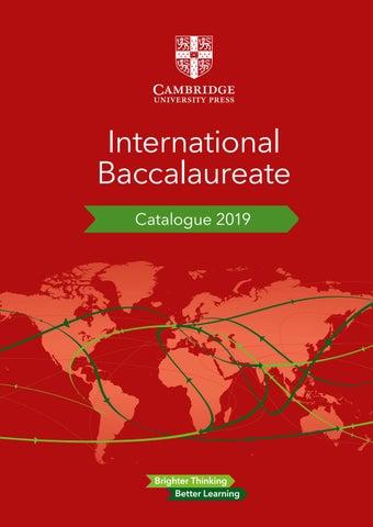 Cambridge IB Catalogue 2019 by Cambridge University Press