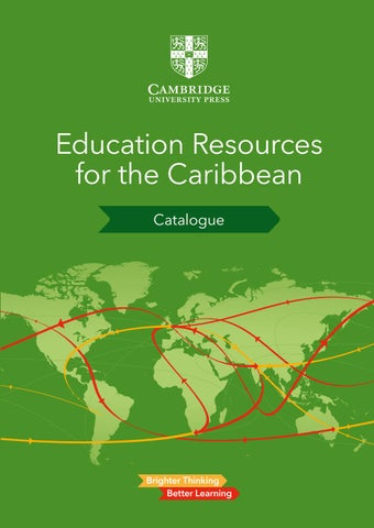Cambridge University Press Caribbean Catalogue 2019 By
