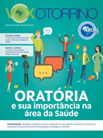 Vox Otorrino 166 by ASSOCIAÇÃO BRASILEIRA DE OTORRINOLARINGOLOGIA E ... d22f7e2e1c907