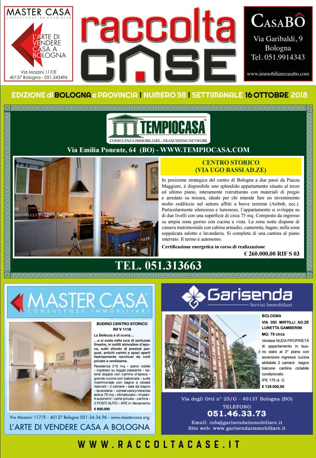 Spazio Vitale Studio Immobiliare raccoltacase bologna 38 - 2018 by publidok s.r.l. - issuu
