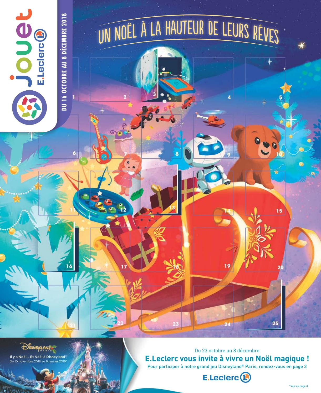 Catalogue jouets Noël 2018 - Jouet E.Leclerc by Yvernault ...