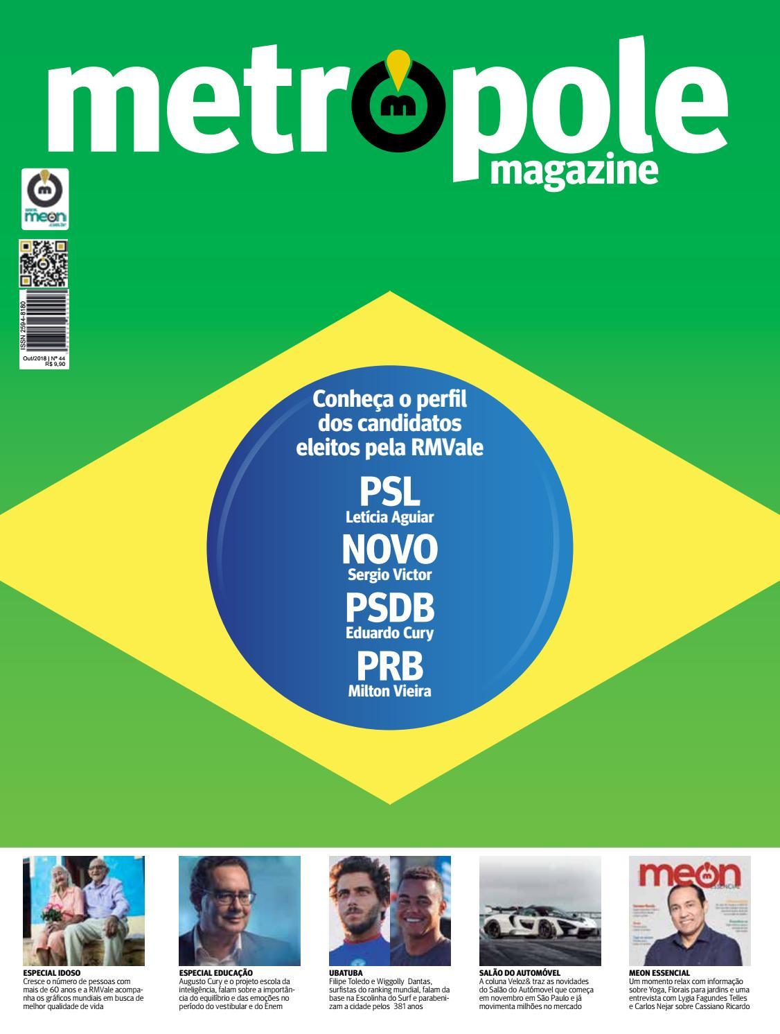 480a6189e Metrópole Magazine - Outubro de 2018 / Edição 44 by Portal Meon - issuu