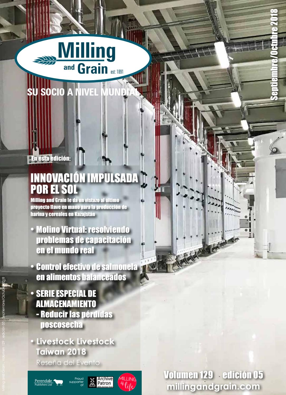 SPANISH LANGUAGE EDITION - Milling and Grain - issue 5 - 2018 by Perendale  Publishers - issuu 5c07f9fa527b