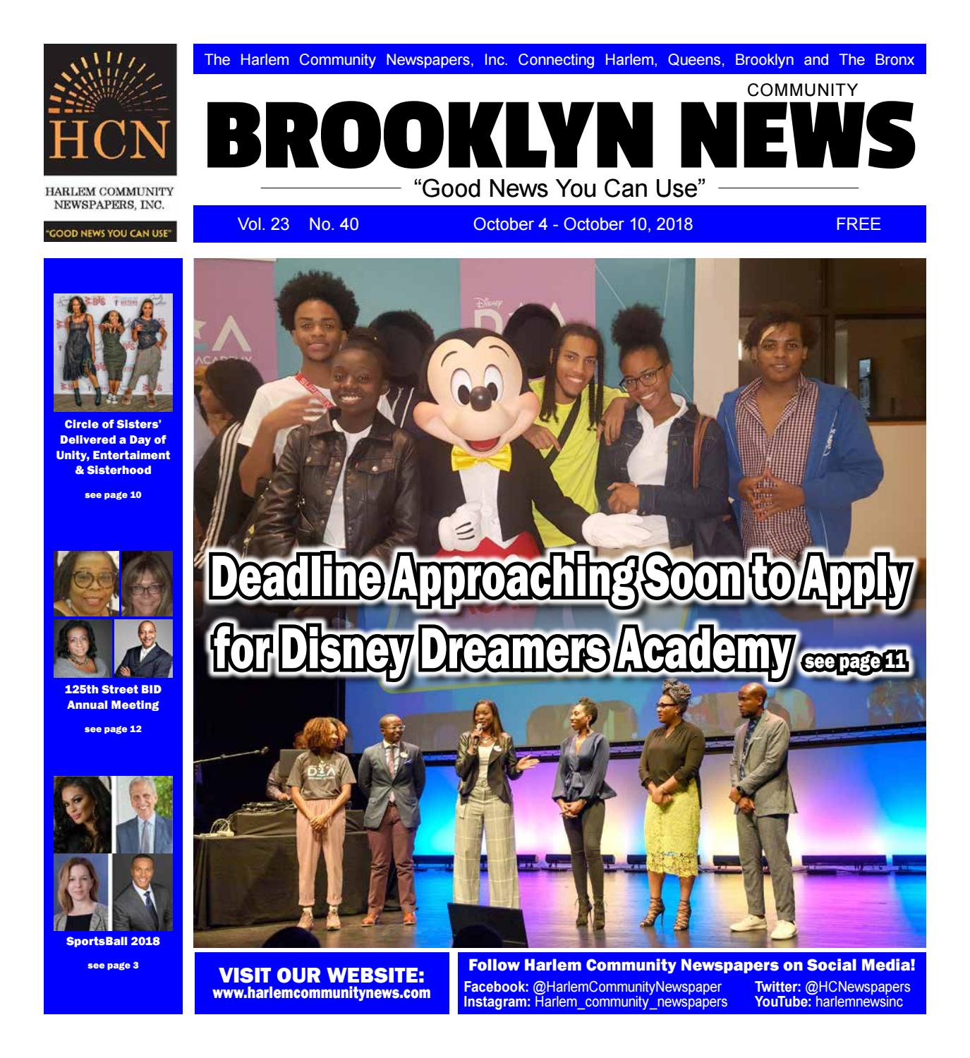 Brooklyn Community Newspapers | October 4, 2018 by Mike