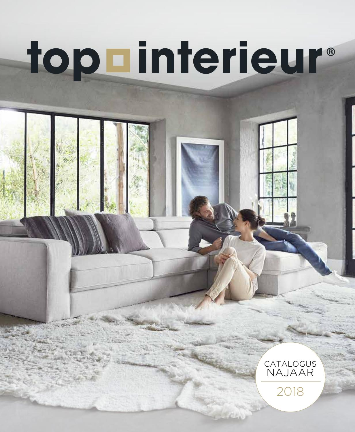 Natuzzi Wit Leren Bank.Catalogus Top Interieur Izegem Najaar 2018 By Topinterieur Issuu